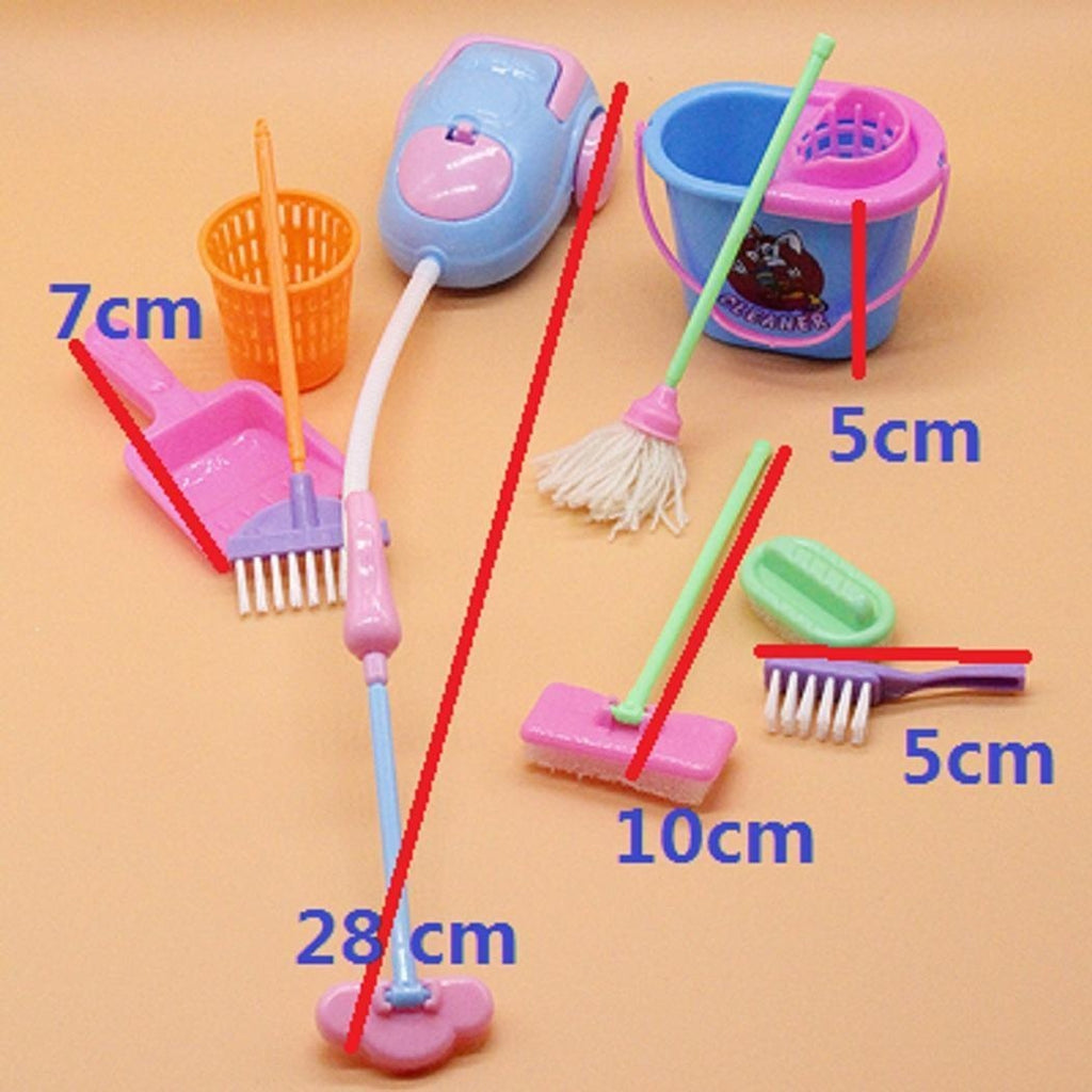 New Kids Children Simulation Cleaning Supplies Set Puzzle Early Education Toys