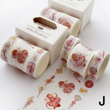 Washi Tape Set Cute Adhesive Tape DIY Decoration Sticker Scrapbooking Diary Masking Tape Stationery Supply(3/12 Rolls Per Set)