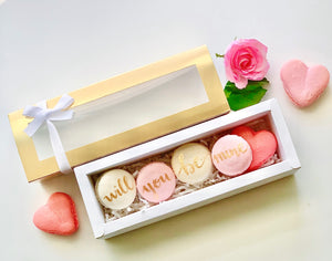 Bridesmaid, Maid of Honor Macaron Set