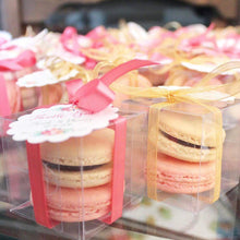 Load image into Gallery viewer, Pink and White Macaron Party Favors