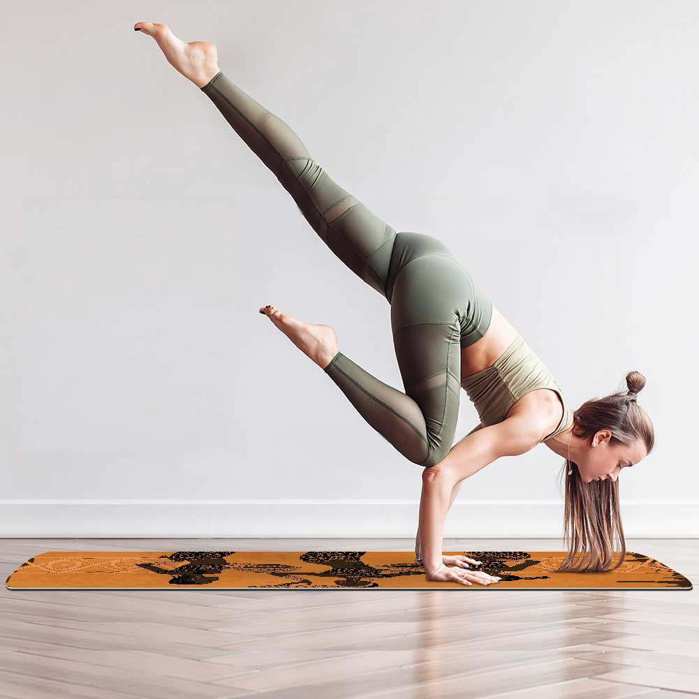 African Element Yoga Mat Essential Eco Friendly - Lorvies