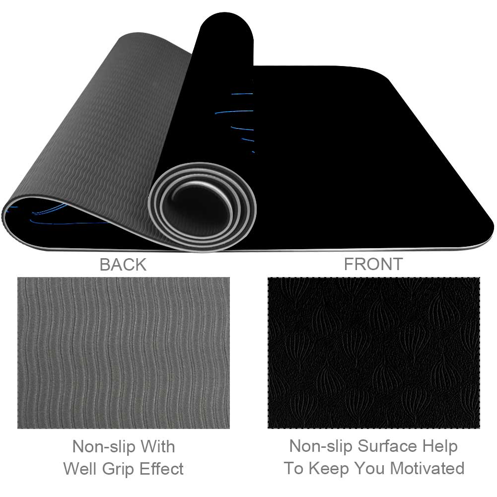 Darkness Yoga Mat