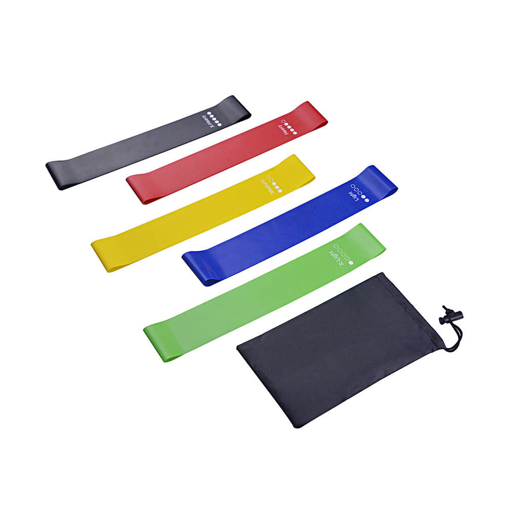 Exercise Resistance Bands, 5 Band Set