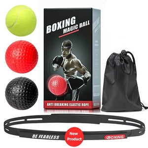 Head-mounted Boxing Reflex Ball