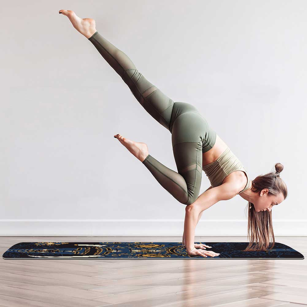 Indian Elephant Yoga Mat Best - Lorvies