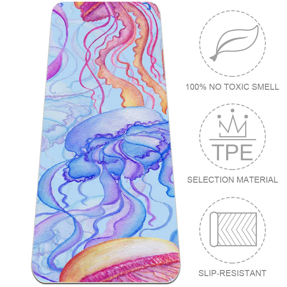Jellyfish Yoga Mat