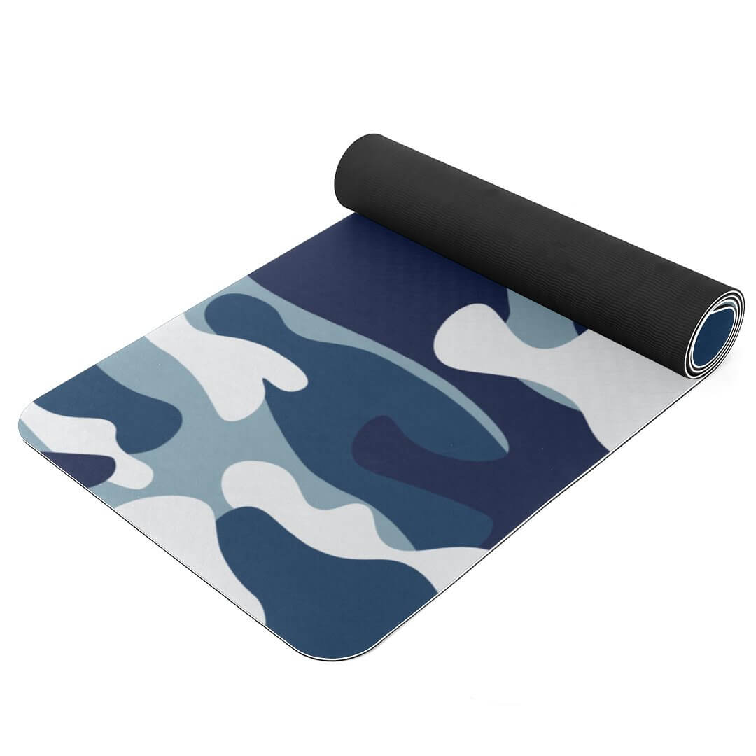 Lorvies Camouflage Pattern TPE Yoga Mat