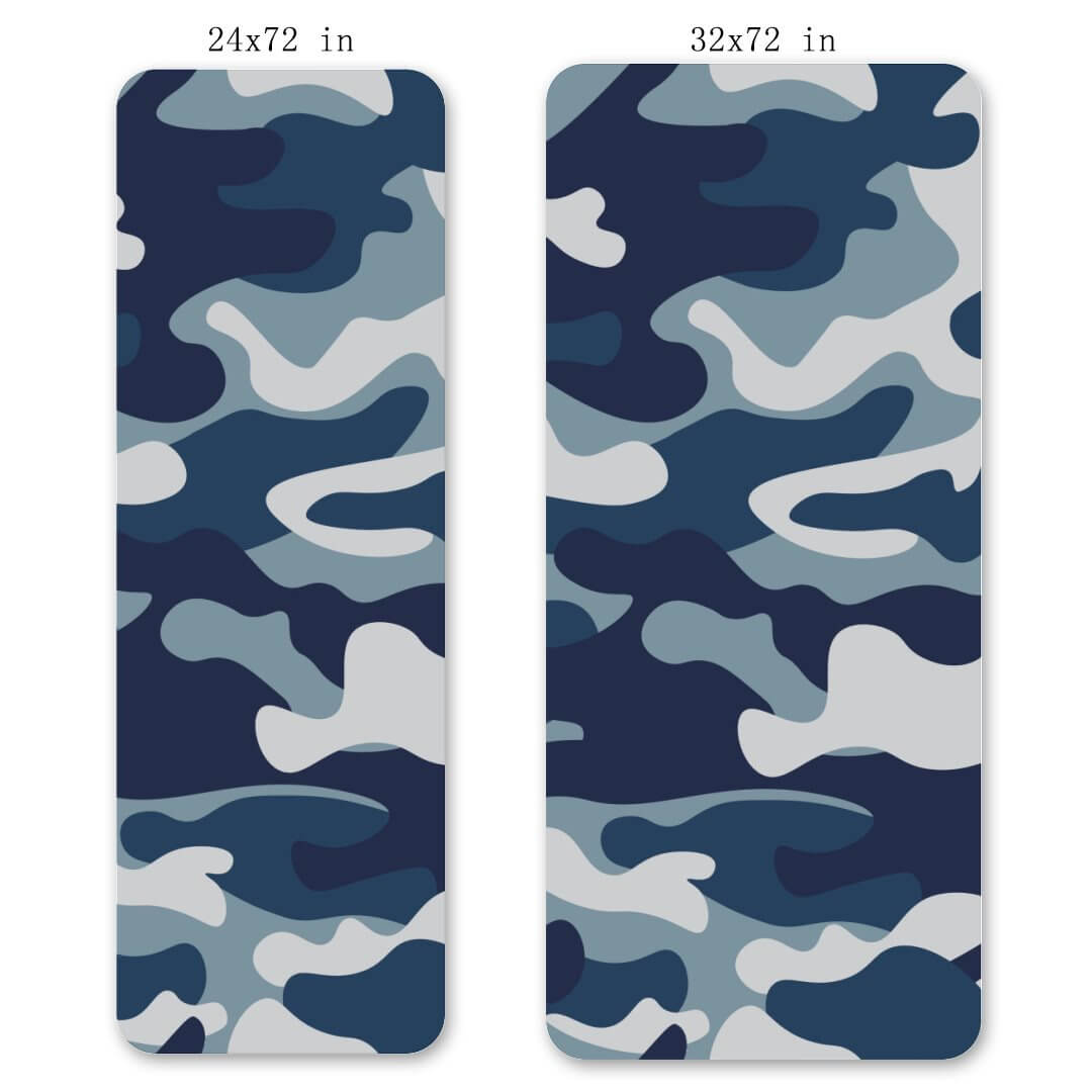 Lorvies Camouflage Yoga Mat Exercise Fitness Mat