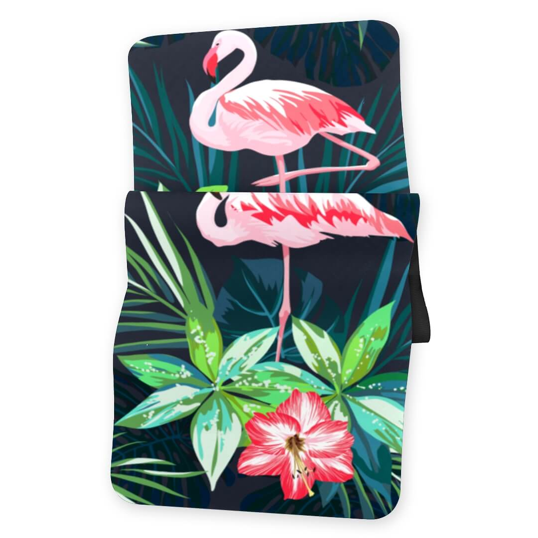 Lorvies Flamingo Flower Yoga Mat