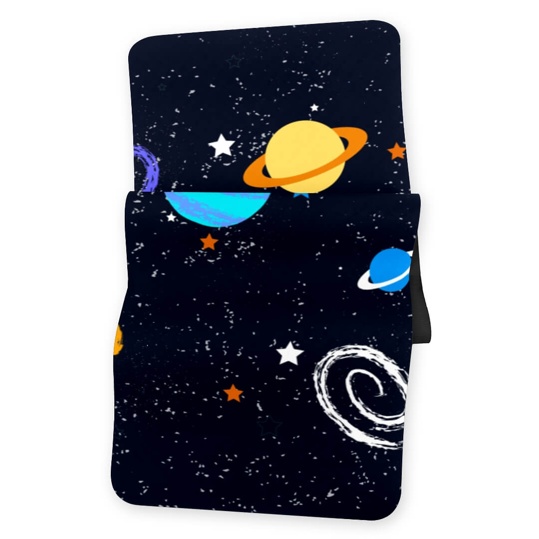Lorvies Outer Space Gym Mat Non Slip