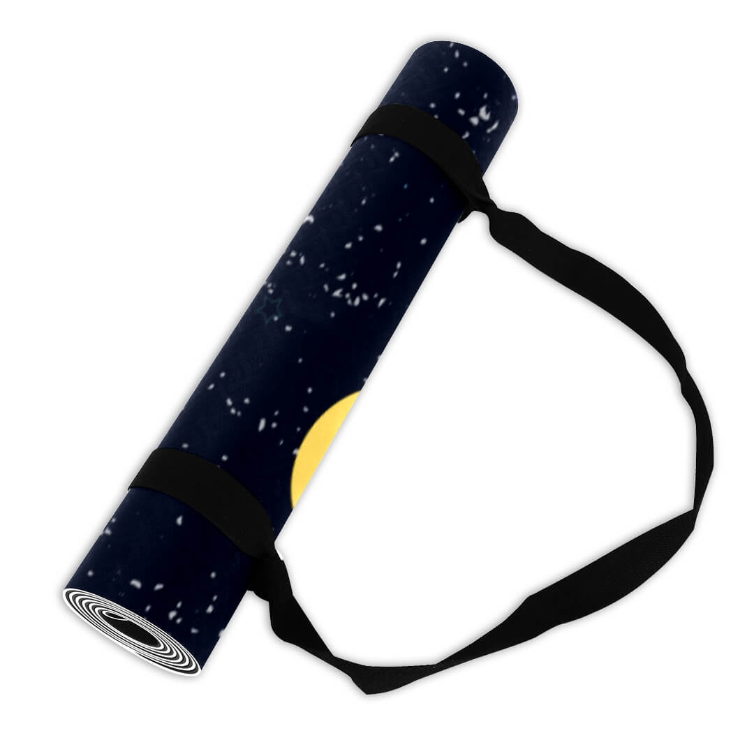 Lorvies Outer Space Gym Mat Online