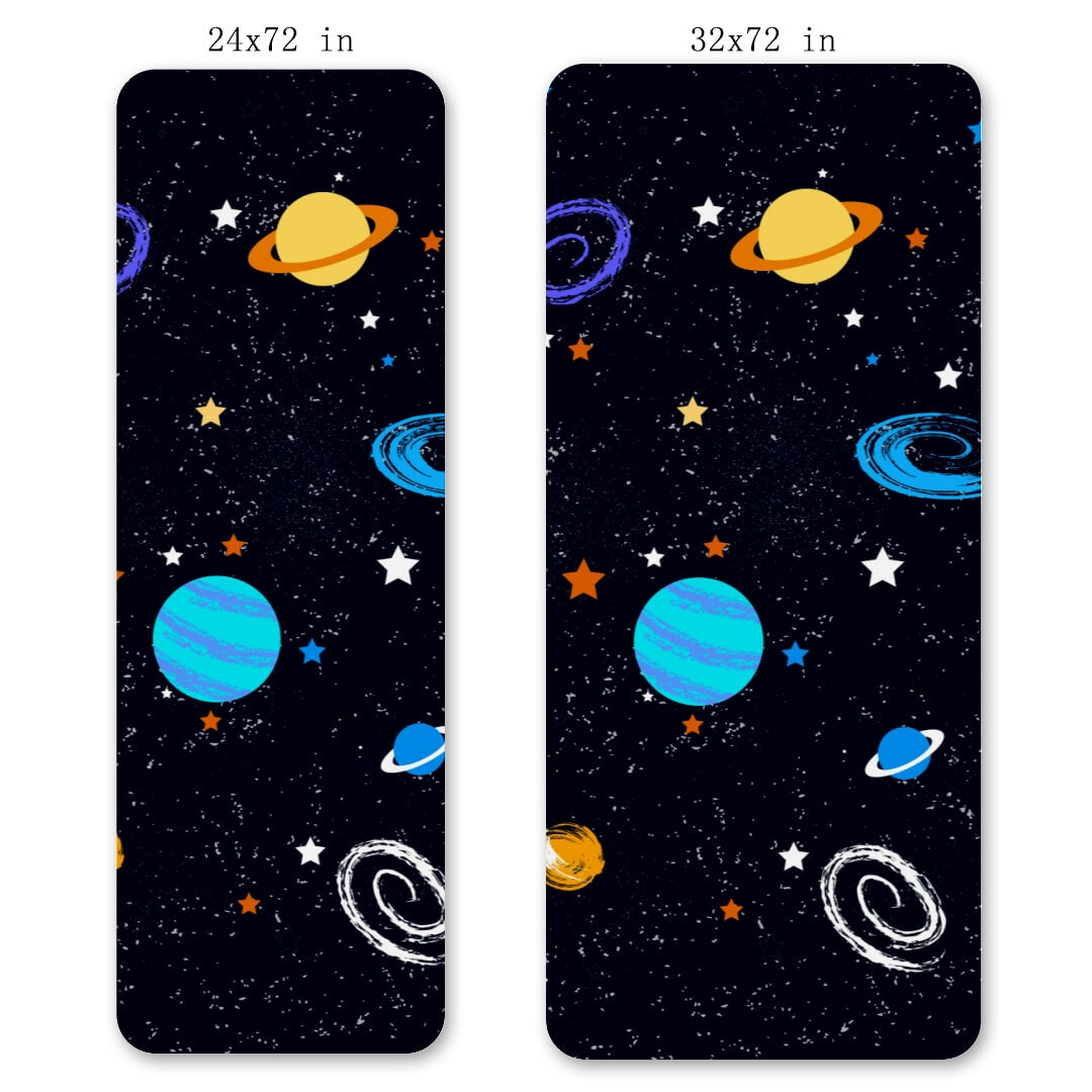 Lorvies Outer Space Gym Mat