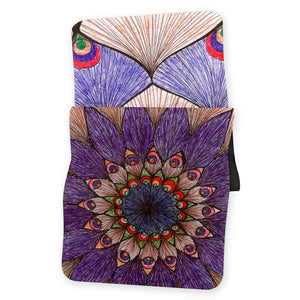 Lorvies Peacock Color Mandala Yoga Mat