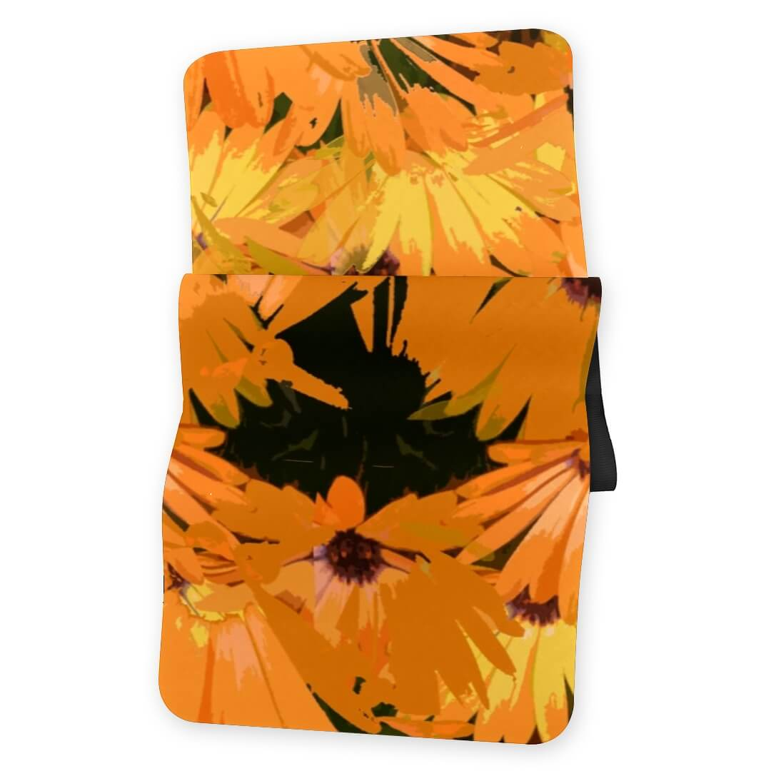 Lorvies Retro Flowers Yoga Mat