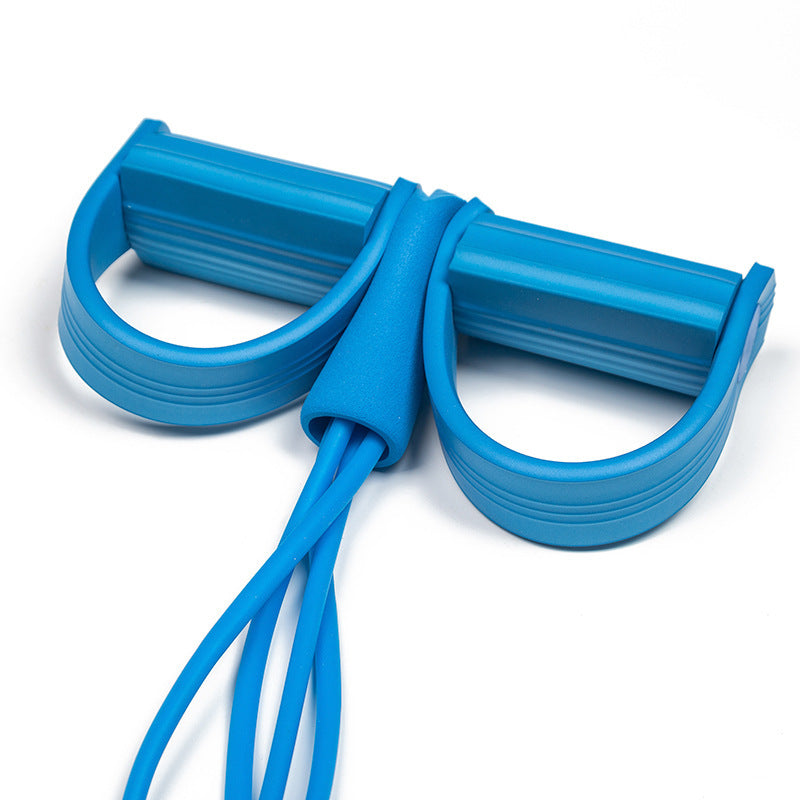 Pedal Resistance Band Elastic Pull Ropes Sit-up Exercise
