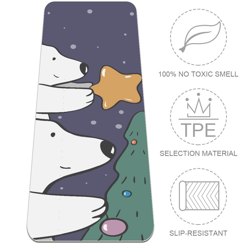 Polar Bear Yoga Mat