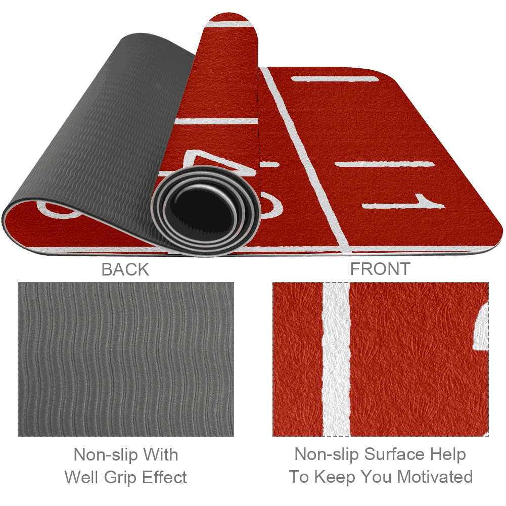 Rubber Sport Running Track Gym Mat Workout - Lorvies
