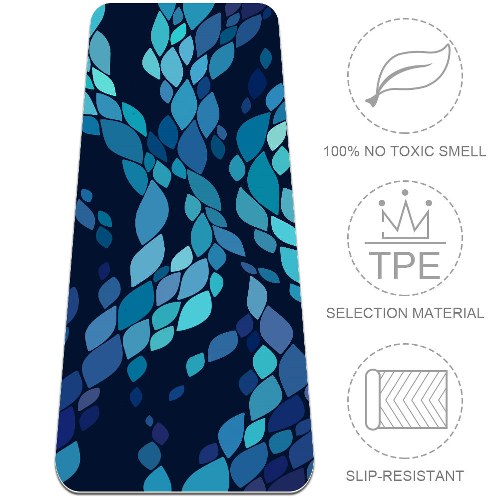 Best Snake Scale Yoga Mat For Sweaty Hands Fitness Eco Friendly - Lorvies