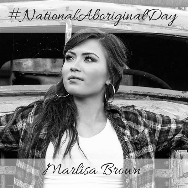 Marlisa Brown National Aboriginal Day 2016