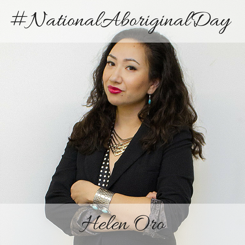 Helen Oro National Aboriginal Day 2016