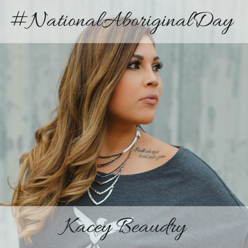 Kacey Beaudry National Aboriginal Day 2016