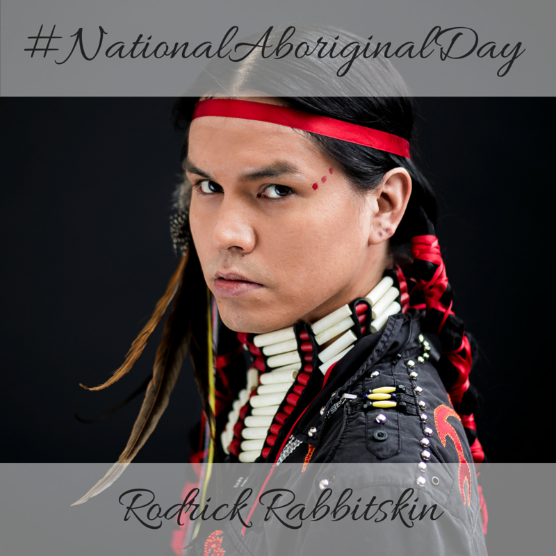 Rodrick Rabbitskin National Aboriginal Day 2016