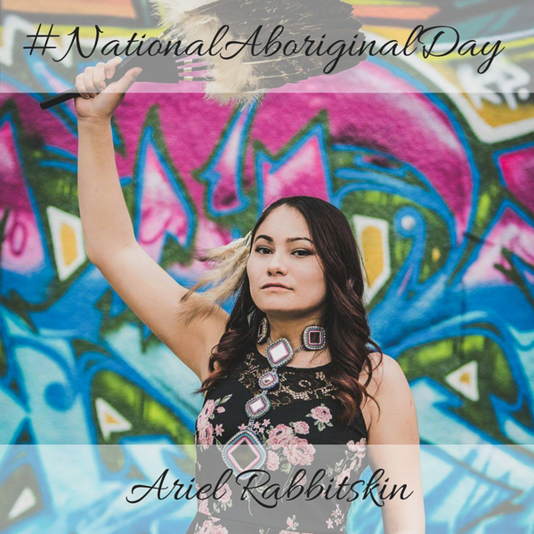 Ariel Rabbitskin National Aboriginal Day 2016