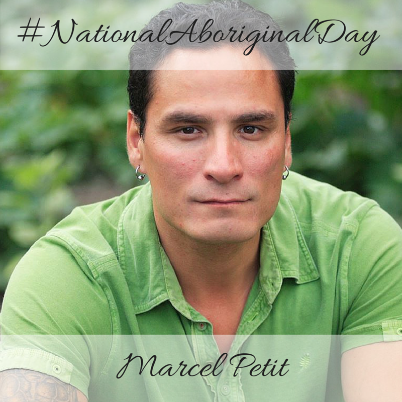 Marcel Petit National Aboriginal Day 2016