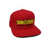 Digital Underground Red/Yellow/Black Doowutchyalike Adjustable Snapback Wool Blend Hat