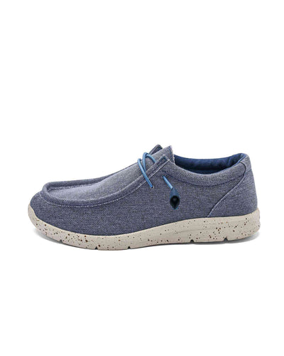 FitVille Men Casual Slip-On Blue