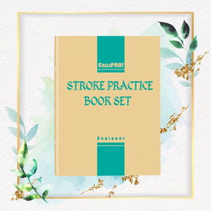 [PROMO 30%] CalliPRO! Stroke Practice Book Set