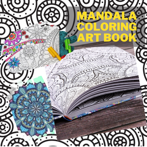 [Promo 30%] Mandala Coloring Art Book