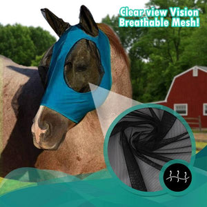 [PROMO 30%] Anti-Fly Mesh Equine Mask