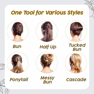 [PROMO 30% OFF!] InstaStyle™ Hair Elastic Comb