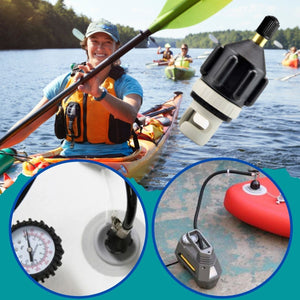 [PROMO 30% OFF!] EZInflate Boat Valve Adapter