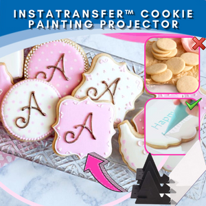 [Promo 30%] InstaTransfer™ Cookie Painting Projector