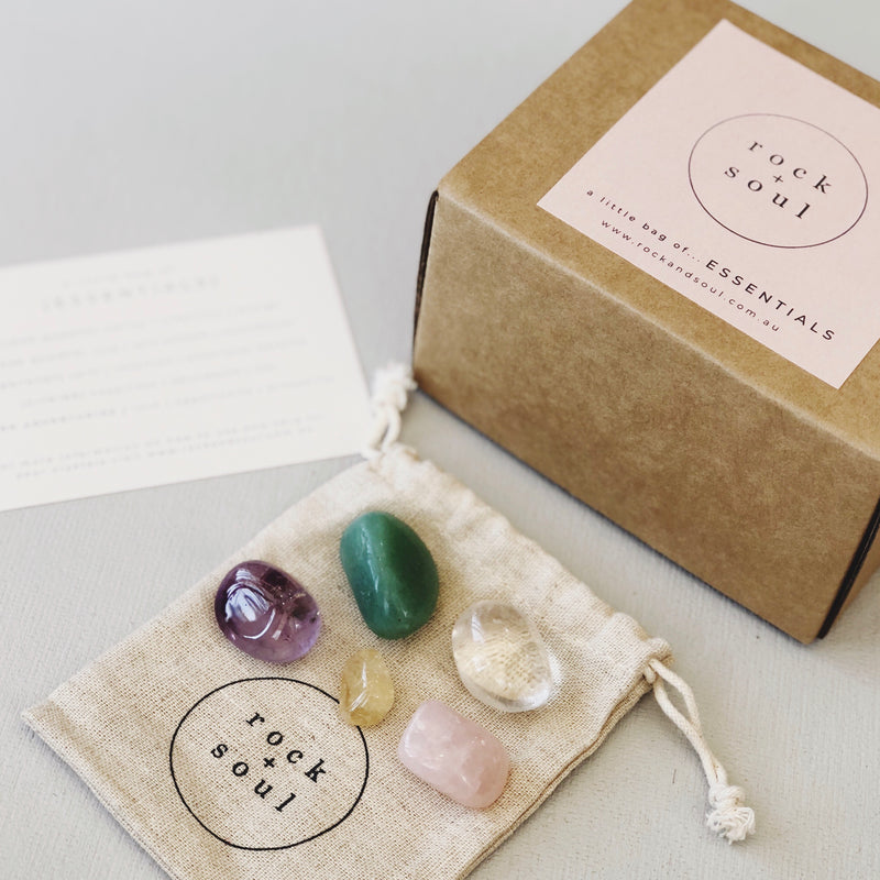 Rock + Soul Crystal Pack // Essentials - Simply Stems Boutique Florist Shepparton