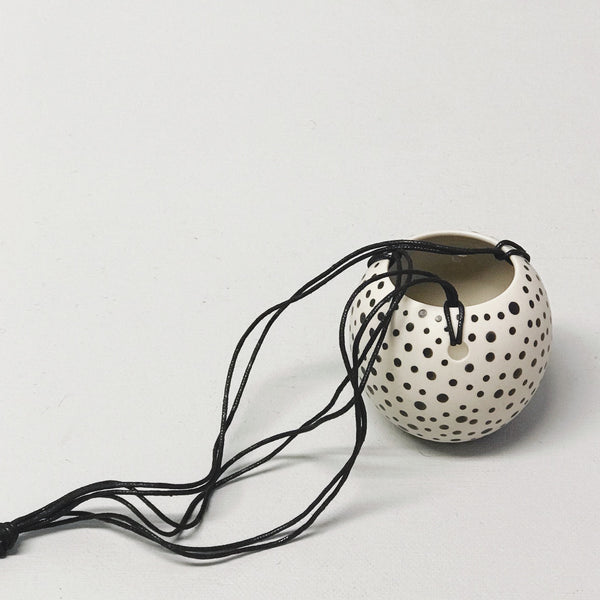 Pot // Mini Spots Hanging Planter - Simply Stems Boutique Florist Shepparton