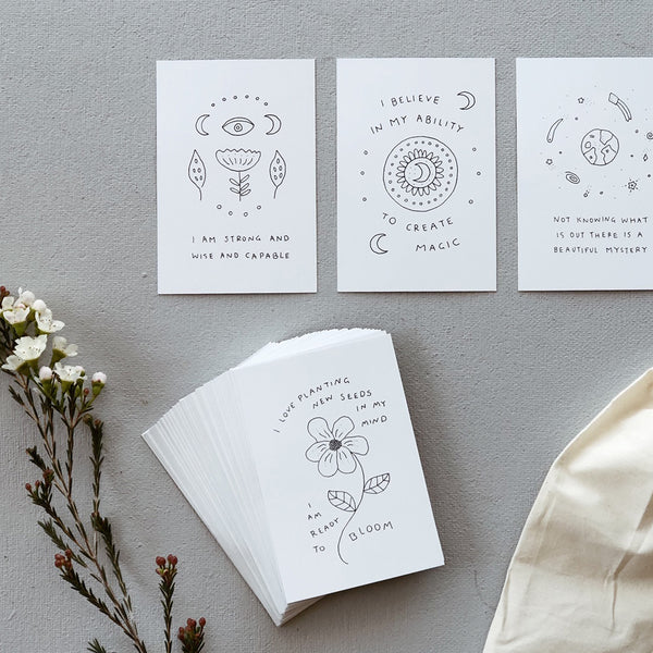 Musings from the Moon // Affirmation Cards - Simply Stems Boutique Florist Shepparton