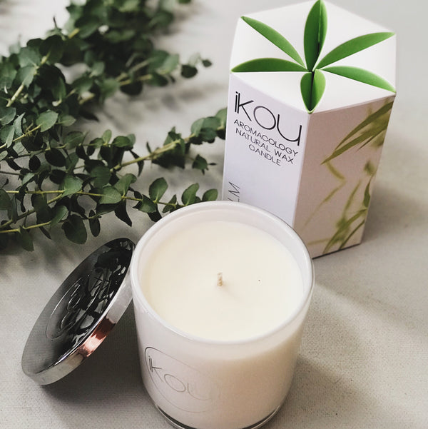 Ikou Natural Wax Candle - Simply Stems Boutique Florist Shepparton
