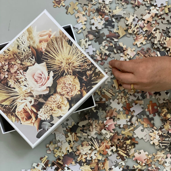 Simply Stems //  Limited Edition //  Floral Puzzle 500 piece