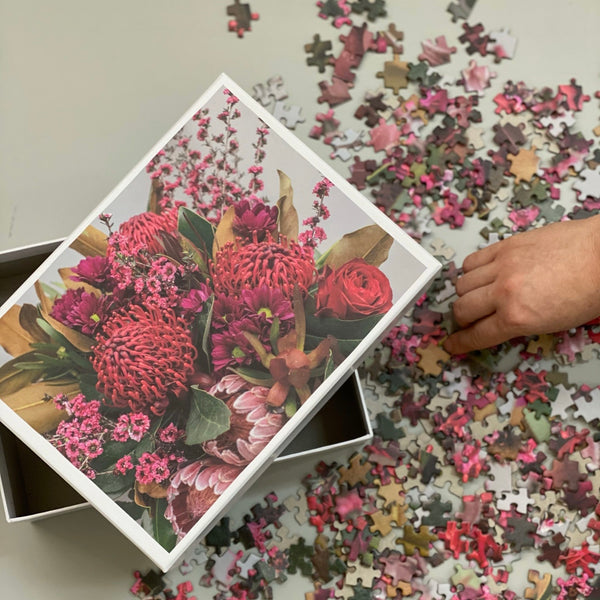 Simply Stems //  Limited Edition //  Floral Puzzle 1000 pce