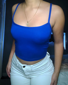 BASIC TOP (Royal Blue)