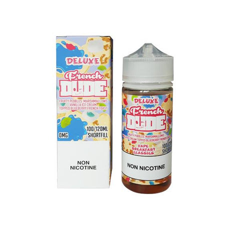 Deluxe French Dude 0mg 100ml Shortfill (80VG-20PG)