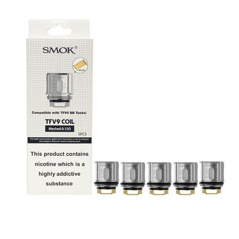 Smok TFV9 Replacement Mesh Coil 0.15ohms