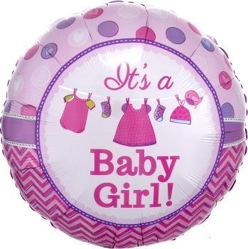It's a baby girl!