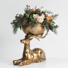 Load image into Gallery viewer, Reindeer Buck Bowl Arrangement
