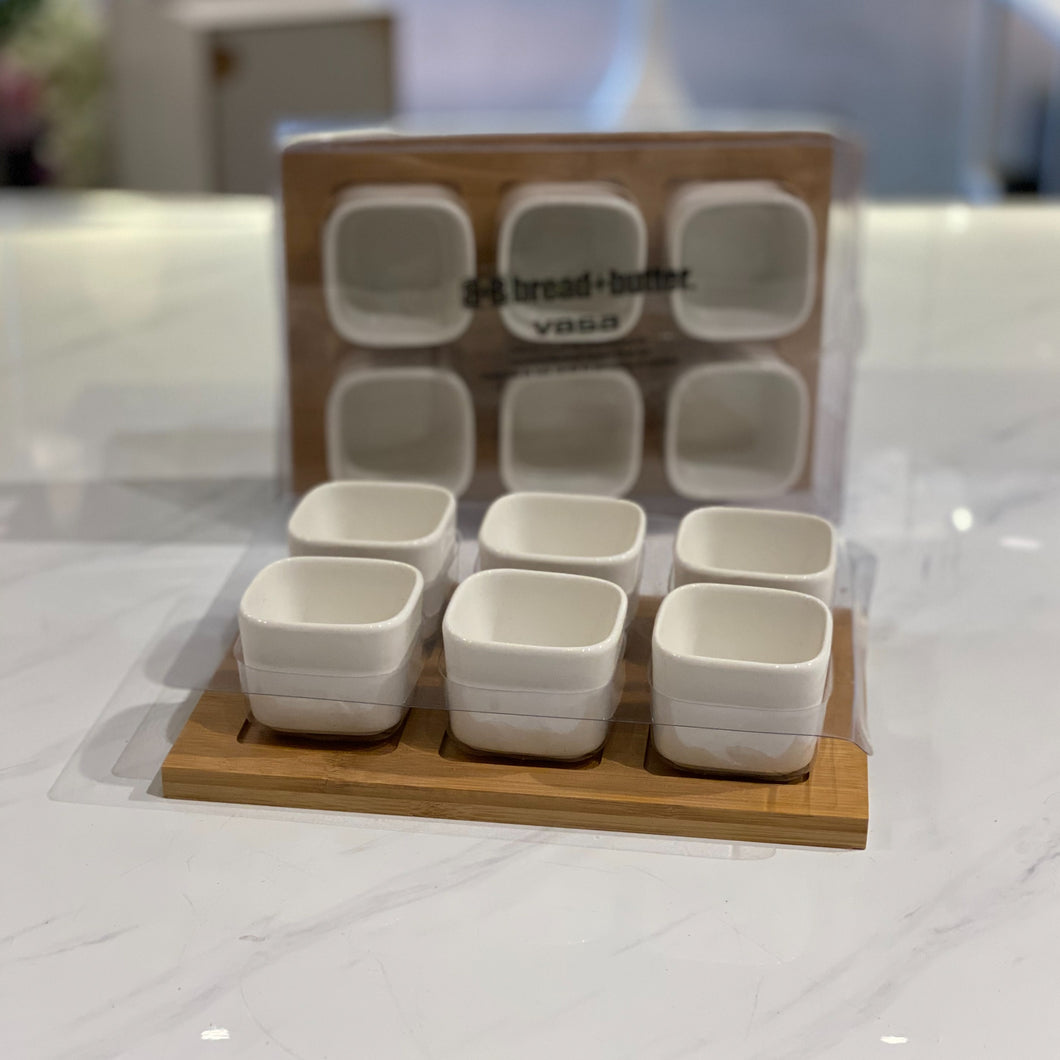 Square Bowl Set
