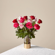Load image into Gallery viewer, Rose Coloured Love Bouquet