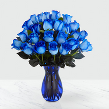 Load image into Gallery viewer, Extreme Blue Hues Fiesta Rose Bouquet